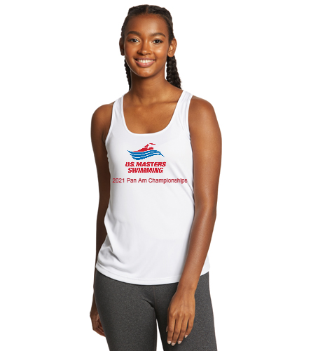 2021 Pan American Masters Championship Team -  - SwimOutlet Ladies PosiCharge® Competitor™ Racerback Tank