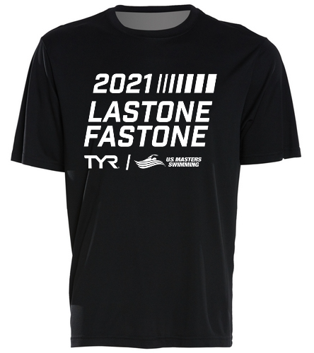 USMS 2021 TYR Last One Fast One  - SwimOutlet PosiCharge® Competitor™ Tee