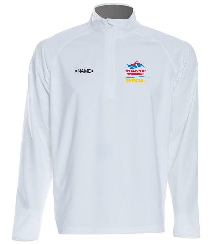USMS Officials - SwimOutlet Sport-Tek®Sport-Wick® Stretch 1/2-Zip Pullover