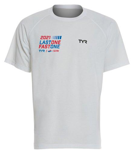 USMS 2021 TYR Last One Fast One  - TYR Men's Alliance Tech Tee