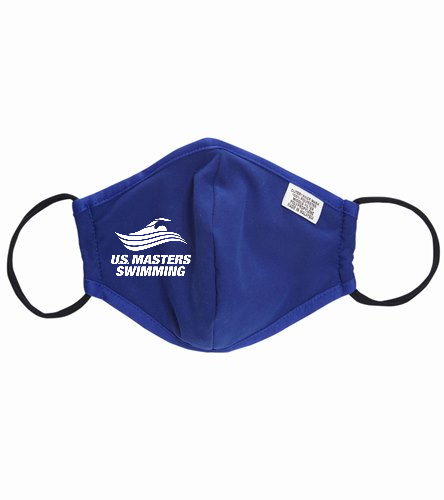 U.S. Masters Swimming - Sporti Adult Reusable Face Mask (Set of Two)