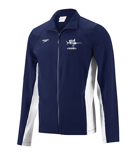 Men's Warm Up Jacket - Speedo Men's Boom Force Warm Up Jacket