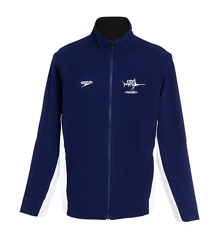 Youth Warm Up Jacket - Speedo Youth Boom Force Warm Up Jacket