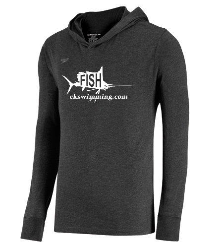 Sailfish Grey Pullover - Speedo Unisex Pull Over Hoodie