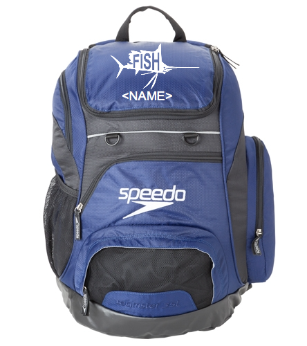 Navy Speedo Backpack. - Speedo Large 35L Teamster Backpack