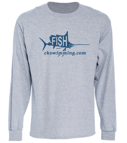 Grey Longsleeve  - Long Sleeve T-Shirt