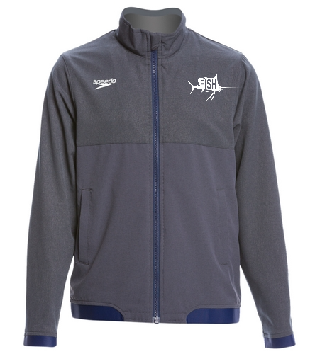 Youth Warm Up Jacket - Speedo Youth Tech Warm Up Jacket