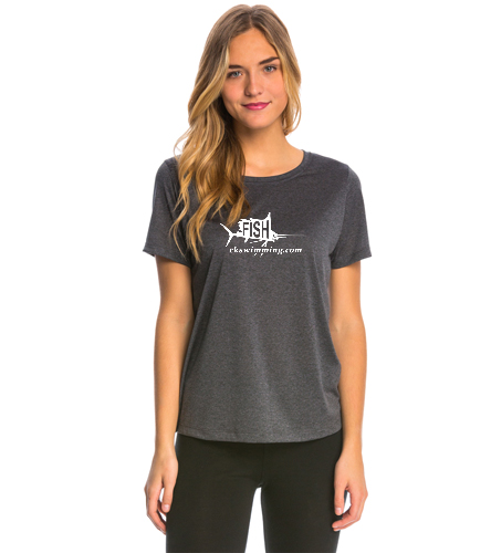 Ladies Tech Tee - SwimOutlet Women's Tech Tee