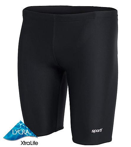 Willowick Wildkats - Sporti Solid Compression Jammer Swimsuit