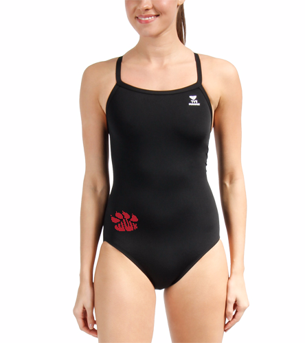 Willowick Wildkats - TYR Durafast Solid Diamondfit One Piece Swimsuit