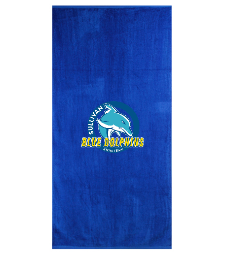 SBD Towel  - Royal Comfort Terry Velour Beach Towel 32 X 64
