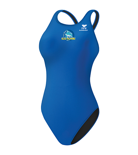 SBD Thick Strap Suit - TYR Durafast Elite Solid Maxfit One Piece Swimsuit
