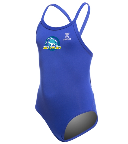 SBD - TYR Youth Durafast Elite Solid Diamondfit One Piece Swimsuit