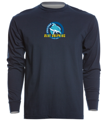 Long Sleeve Crew T - SwimOutlet Unisex Long Sleeve Crew/Cuff