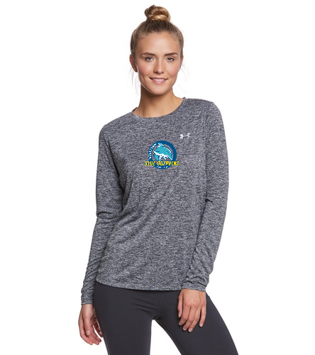 Womens Tech Long Sleeve - Under Armour Women's Tech Twist Crew Neck Long Sleeve