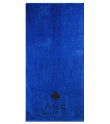 FULL LOGO TOWEL - Royal Comfort Terry Velour Beach Towel 32 X 64