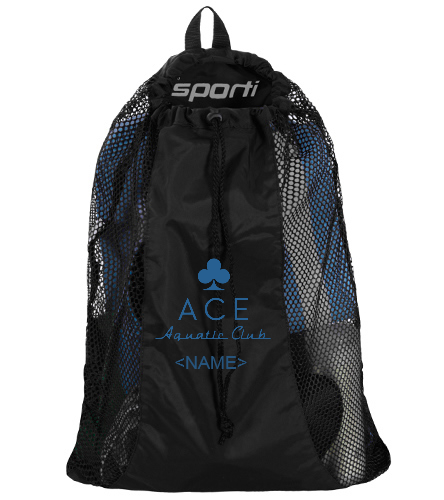 custom mesh bag - Sporti Premium Mesh Backpack
