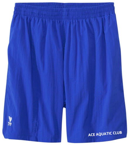 ROYAL BLUE ACE AQUATIC CLUB SHORT - TYR Classic Deck Short