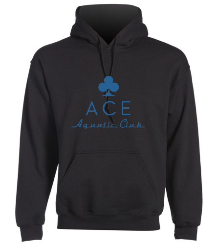 ACE ADULT HOODIE - SwimOutlet Heavy Blend Unisex Adult Hooded Sweatshirt
