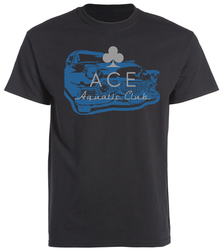ACE CLASSIC - SwimOutlet Unisex Cotton Crew Neck T-Shirt