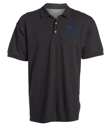 ACE DAD POLO - SwimOutlet Ultra Cotton Adult Men's Pique Sport Shirt