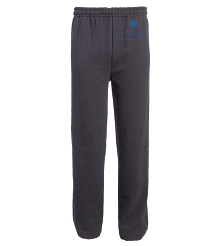 ACE ADULT SWEAT - SwimOutlet Heavy Blend Unisex Adult Open Bottom Sweatpants