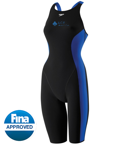 ACE KNEESKIN - Speedo Women's Powerplus Kneeskin Tech Suit Swimsuit