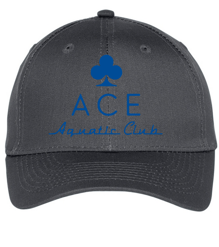 ACE CAP - SwimOutlet Unisex Performance Twill Cap