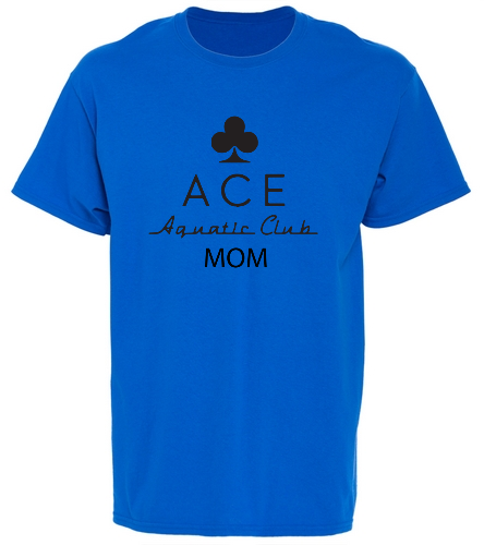 ACE MOM ROYAL - SwimOutlet Unisex Cotton T-Shirt - Brights