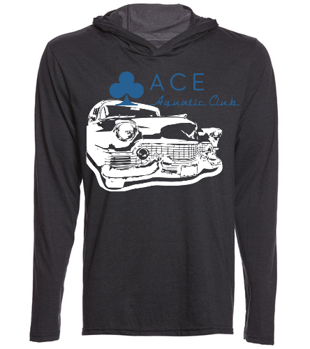 ACE Cadillac Lightweight hoodie - SwimOutlet Men's Perfect Long Sleeve Hoodie