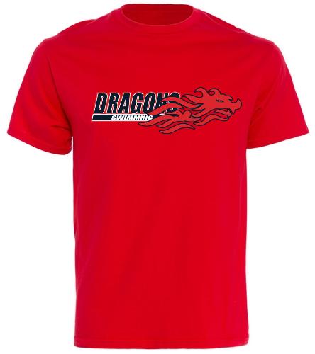 Dragons - Red - United We Swim - SwimOutlet Cotton Unisex Short Sleeve T-Shirt