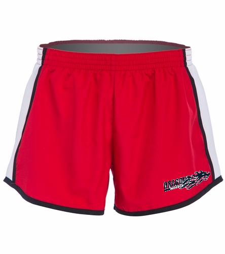 Dragons - Red - SwimOutlet Custom Unisex Team Pulse Short