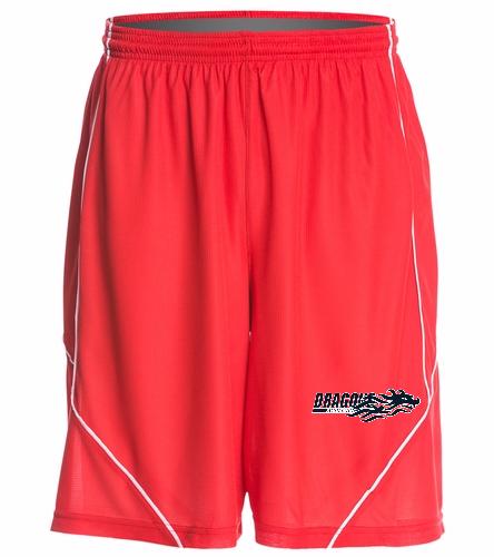 Dragons - Red - SwimOutlet Men's Mesh Short