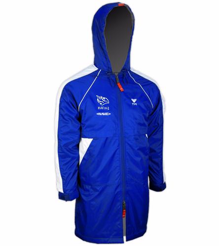 Blue Wave Aquatics - TYR Alliance Team Parka