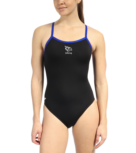 Poly Ladies Team Suit - Speedo Solid Endurance + Flyback Training One Piece Swimsuit