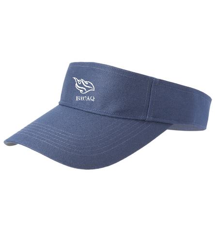 Navy Visor - SwimOutlet Custom Cotton Twill Visor