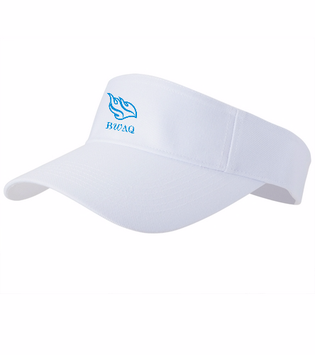 BWA Custom Visor  - SwimOutlet Custom Cotton Twill Visor