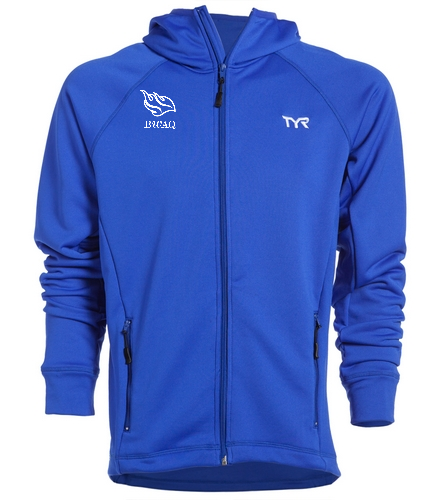 Blue Jacket - TYR Alliance Victory Male Warm Up Jacket