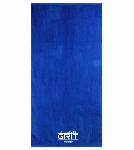 AG Royal - Royal Comfort Terry Velour Beach Towel 32 X 64