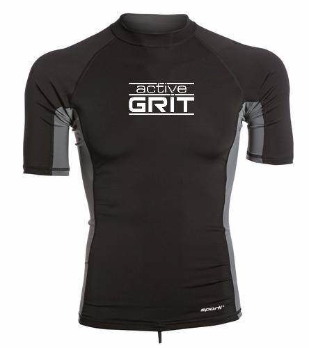 AG - Sporti Men's S/S UPF 50+ Sport Fit Rash Guard