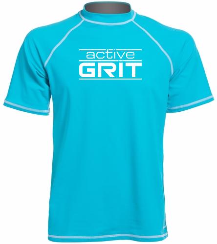 AG - Sporti Men's S/S UPF 50+ Swim Shirt