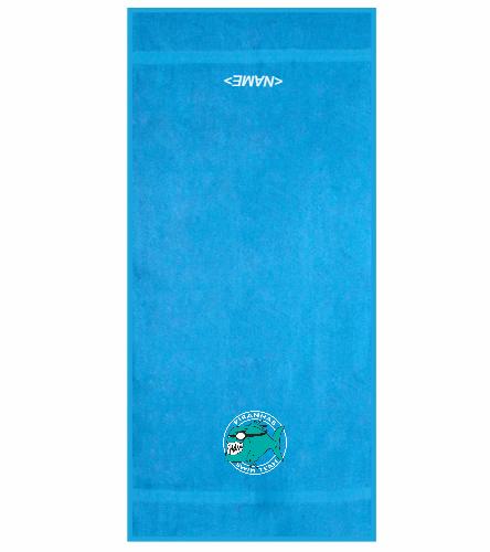 Pennbrooke Piranhas - Royal Comfort Terry Cotton Beach Towel 32 x 64