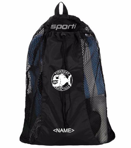 Piranhas Personalized Mesh Bag - Sporti Premium Mesh Bag