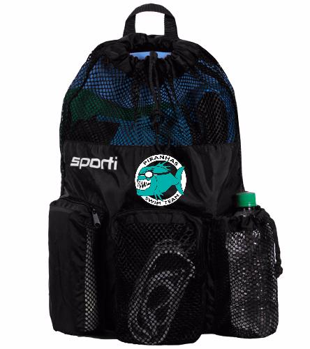 Equipment Mesh Bag Black - Sporti Equipment Mesh Bag