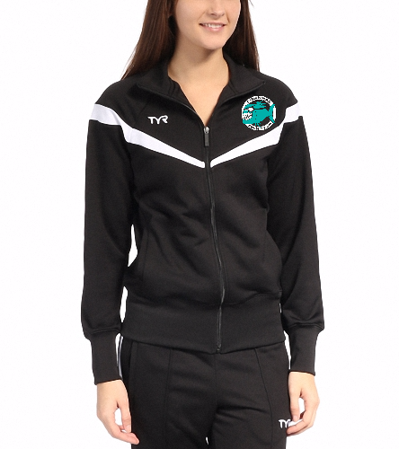 Piranhas Women's Warm up Jacket - TYR Freestyle Female Warm Up Jacket