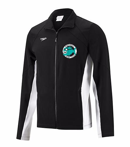 Piranhas Men's Warm Up Jacket - Speedo Men's Boom Force Warm Up Jacket