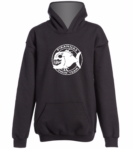 Piranhas Youth Hoodie (Black) - SwimOutlet Youth Heavy Blend Hooded Sweatshirt