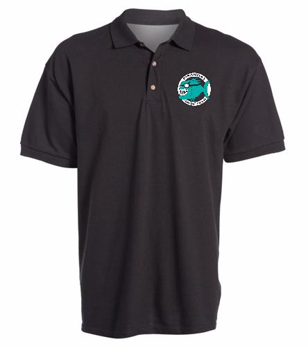 Piranhas Black Sport Shirt -  Ultra Cotton Adult Pique Sport Shirt