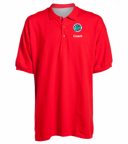 Coach Polo Shirt Red Men's -  Ultra Cotton Adult Pique Sport Shirt