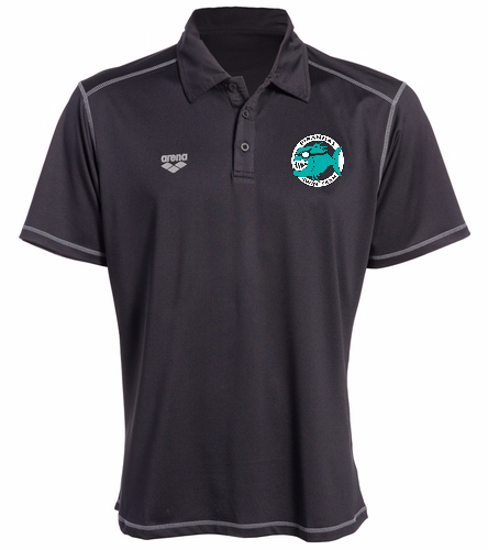 Piranhas Black Polo Shirt - Arena Camshaft USA Unisex Polo Shirt